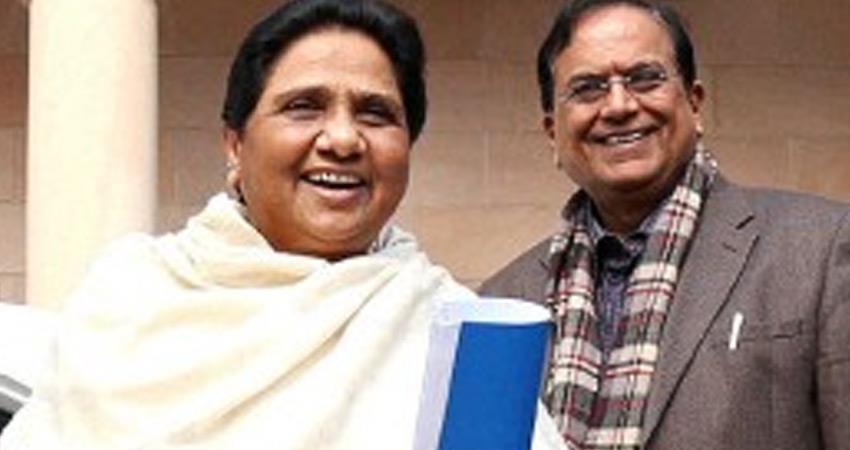 BSP Satish Chandra Mishra said BJP had no intention to build Ram temple rkdsnt