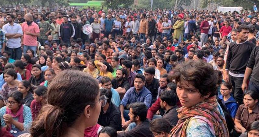 jnu administration decision all educational institutions close students go to homes rkdsnt