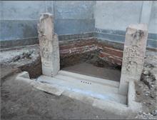एटा में मिली गुप्तकालीन मंदिर की सीढियां, शंख लिपि में है अभिलेख
