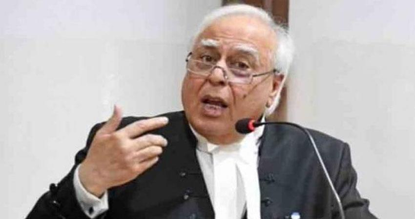 kapil sibal said the state government cannot stop the law passed by parliament