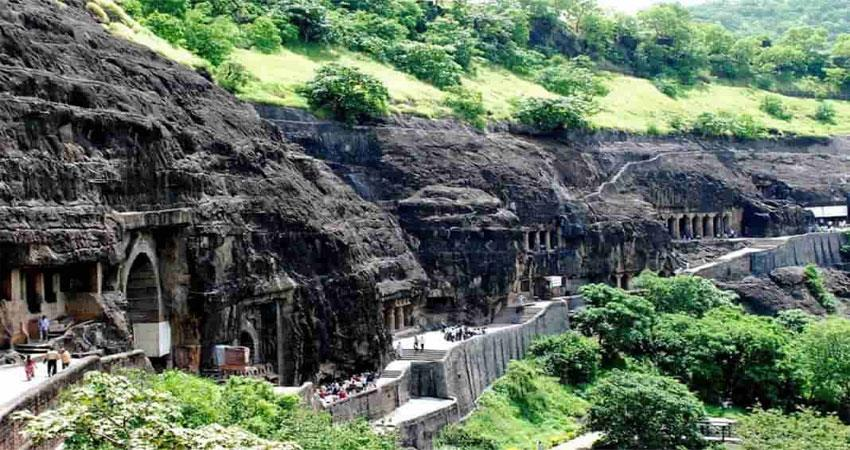visit  buddhist caves located in manavali are the best place to visit for tourist