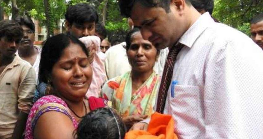gorakhpur medical college dr kafeel khan get clean chit uttar pradesh bjp yogi govt get setback