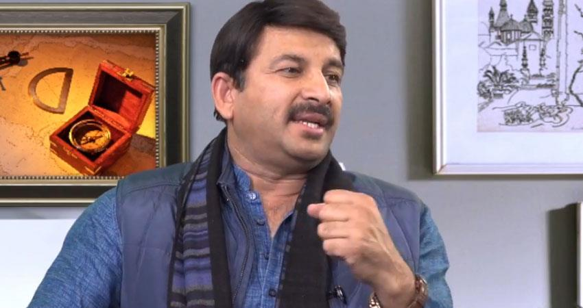 manoj tiwari bjp delhi jibe on aap arvind kejriwal exclusive interview with navodaya times