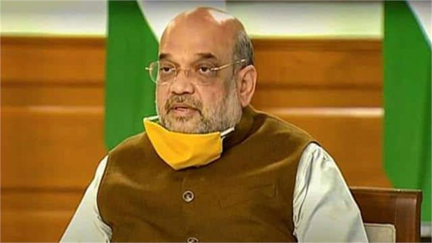 home minister amit shah reviewed the preparedness to deal with the taukate storm