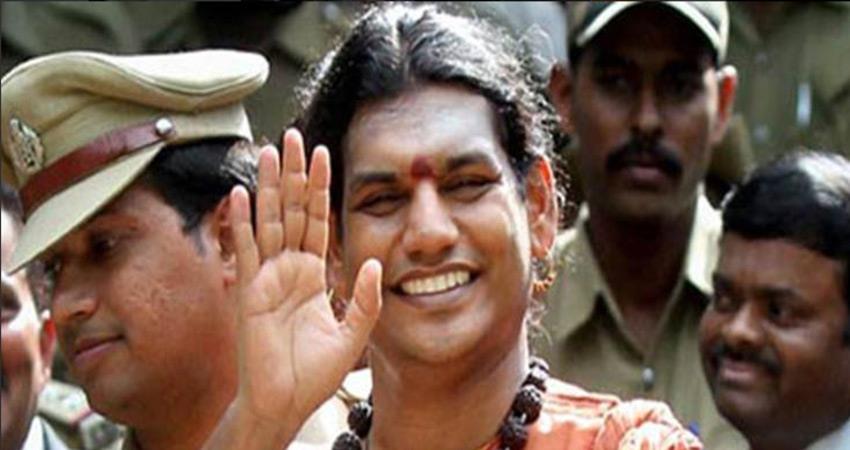 gujarat police says swayambhu baba nityananda fled form india criminal case is registered