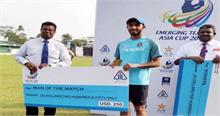 एर्मिजंग टीम एशिया कप: पाकिस्तान को हराकर भारत ने फाइनल में किया प्रवेश
