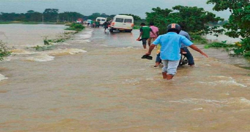 Assam news Assam flood Destroyed life