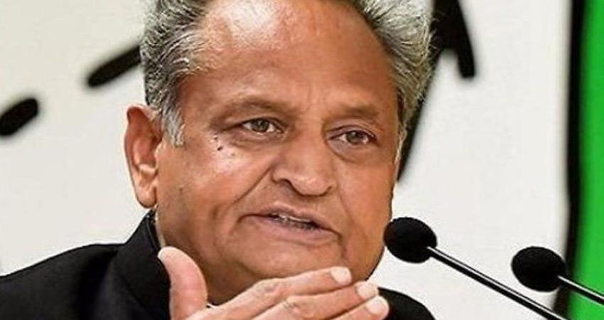 ashok gehlot emotional card before assembly session in rajasthan rkdsnt