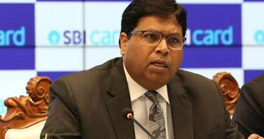 SBI Card CEO Hardayal Prasad resigns Tiwari gets a chance rkdsnt
