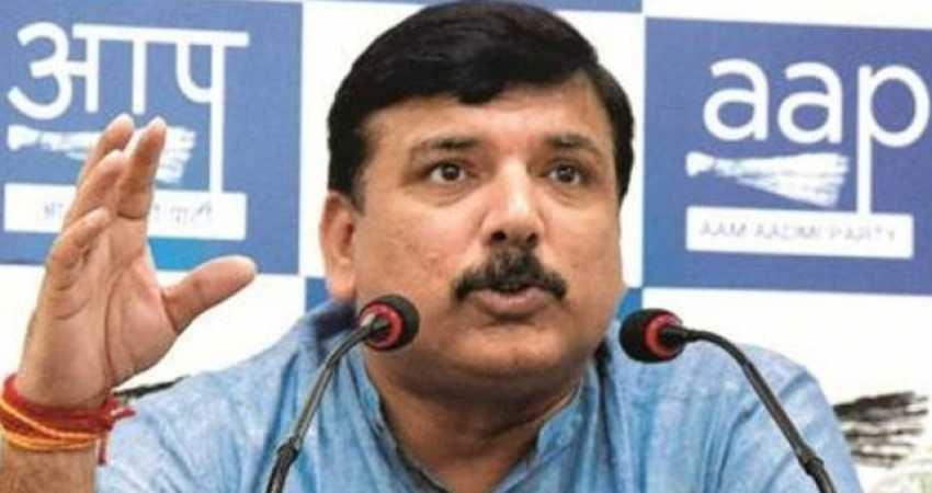 aap mp sanjay singh say black agriculture law made for adani not farmers rkdsnt