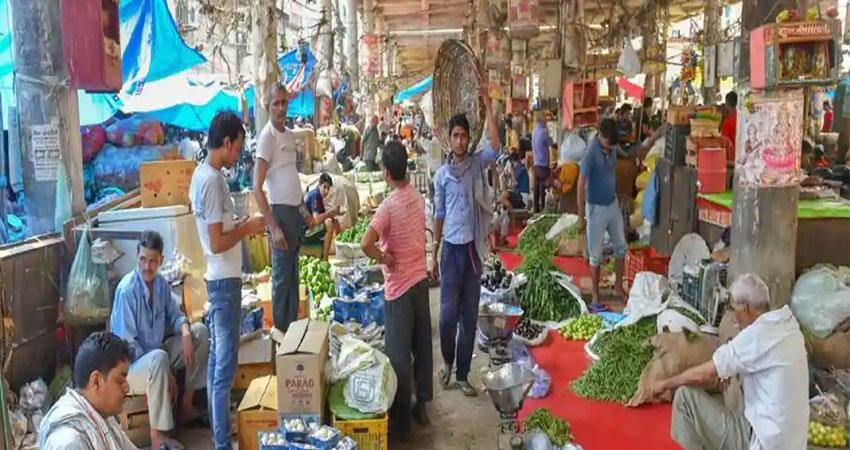 temporary apple market started in tikri khampur due to corona virus pragnt