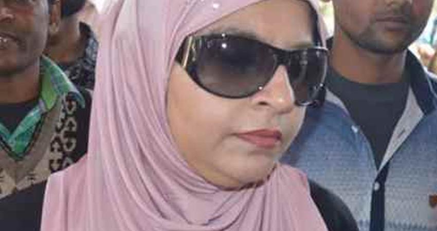 Mukhtar Ansari wife wrote letter to President Yogi BJP govt said law will do its job rkdsnt