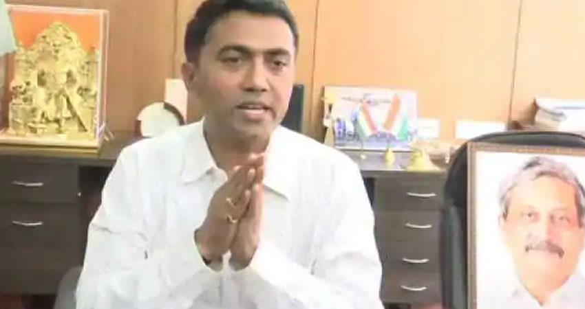 bjp ruled goa chief minister pramod sawant also infected with corona virus rkdsnt
