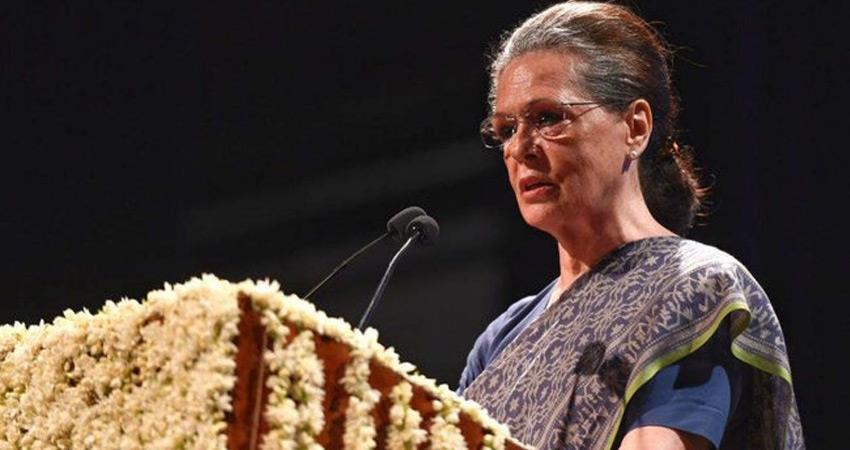sonia gandhi congress attack narendra modi bjp govt over slowdown economy rcep