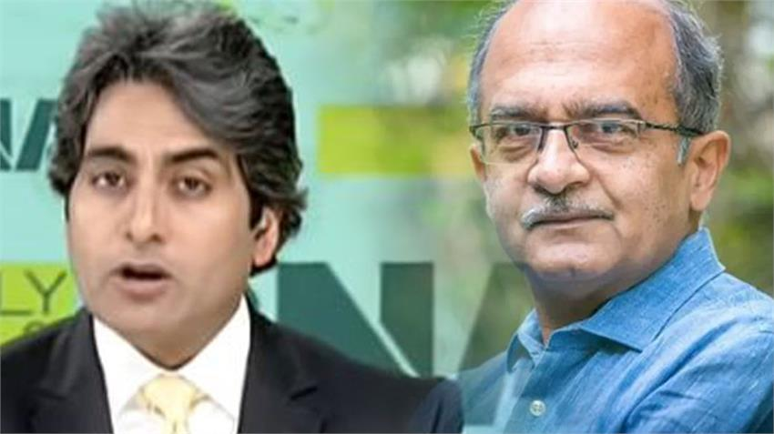 Sudhir Chaudhary and Prashant Bhushan fight Corona infection in Zee News Employees rkdsnt