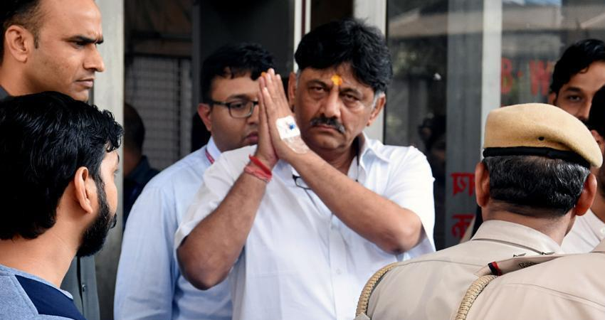 dk shivakumar karnataka congress said in delhi court no point in keeping him in constant custody