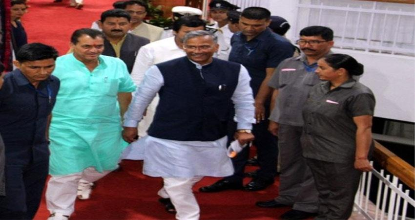 Uttarakhand Assembly session begins in the shadow of corona virus