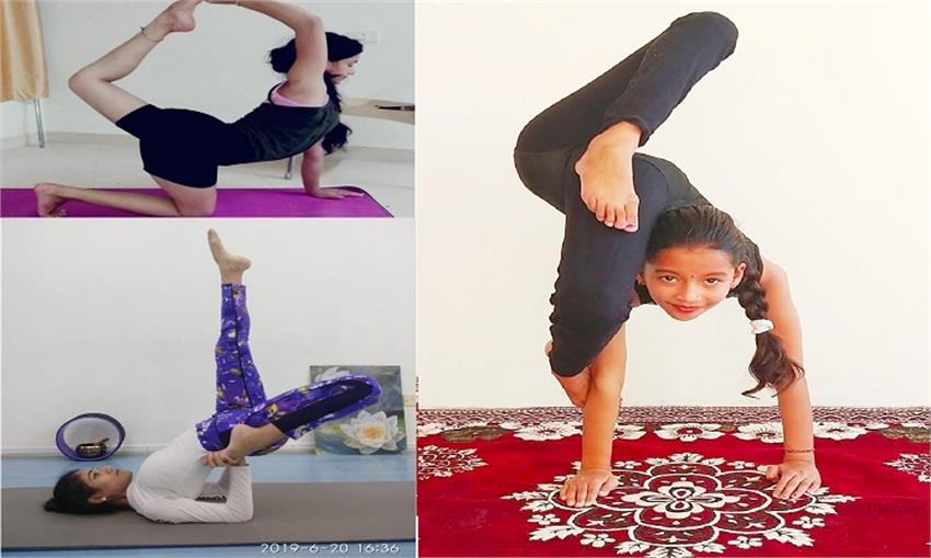 online yoga competition got international talent on face book page vbgunt
