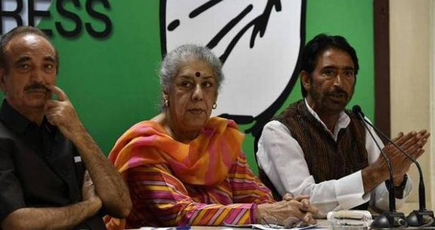 congress ambika soni targeted bjp modi govt over article 370 jammu and kashmir elections
