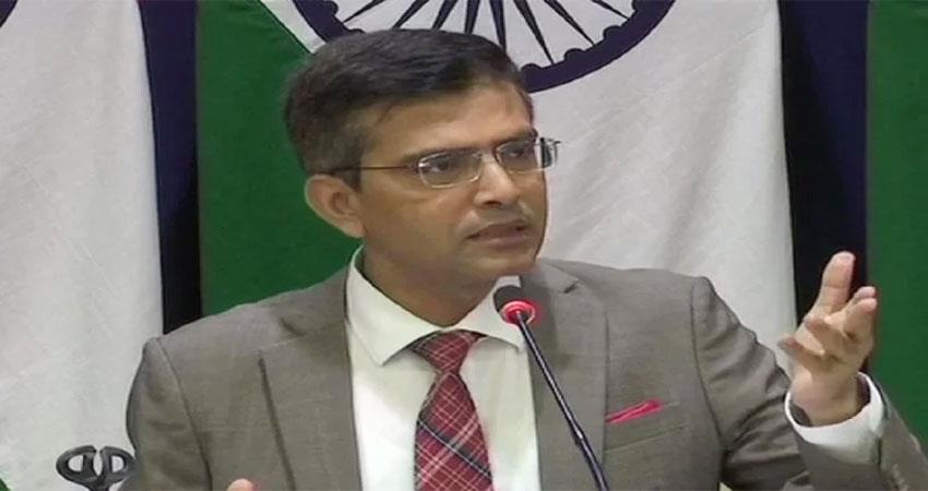 India strong response to China said restructuring of Jammu and Kashmir is our internal matter