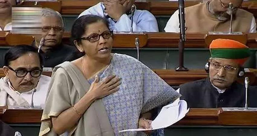 the finance minister hit back at adhir ranjan saying i am nirmala every woman is a sabla