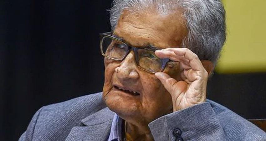 amartya sen said kanhaiya kumar shehla rashid and umar khalid treated like enemies rkdsnt