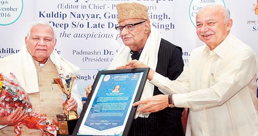 vijay kumar chopra chairman punjab kesari newspaper group elected new chairman of pti