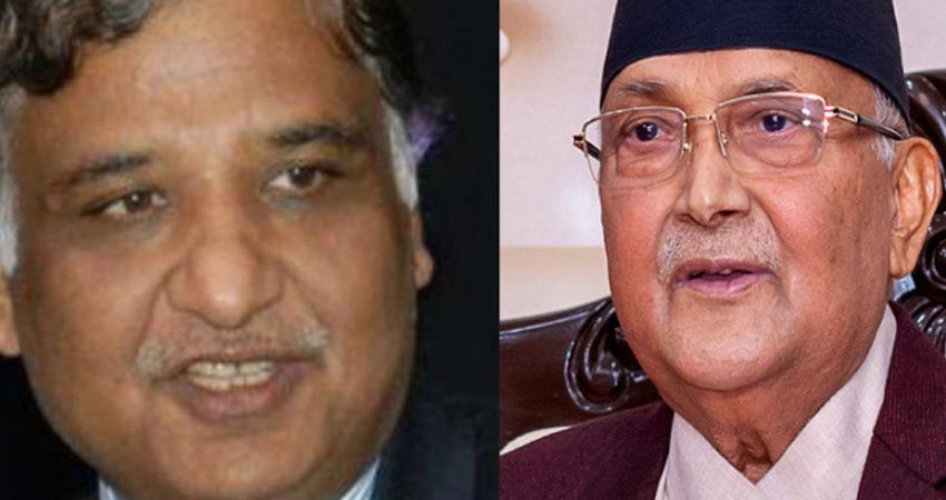 raw chief is getting criticism from nepal prime minister kp sharma oli rkdsnt