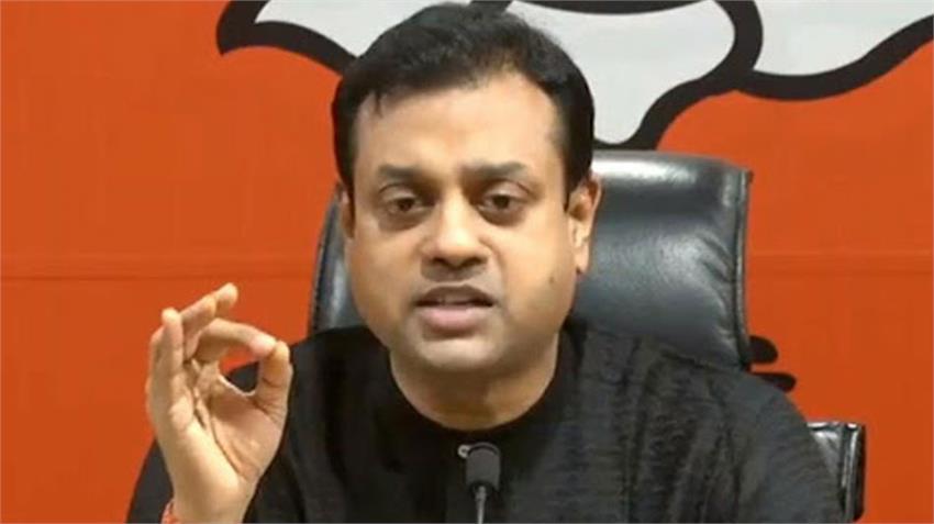 bjp spokesperson patra attack kejriwal delhi government aap sisodia retaliated rkdsnt
