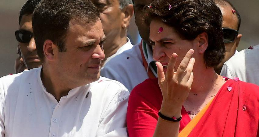 rahul priyanka gandhi took command to save rajasthan government and congress party rkdsnt