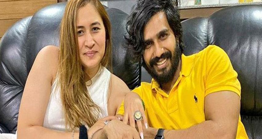 Jwala Gutta Engaged with actor Vishnu Vishal on birthday rkdsnt