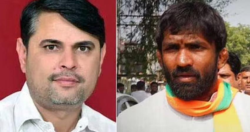 haryana-congress-candidate-defeated-yogeshwar-of-bjp-in-baroda-by-election-rkdsnt