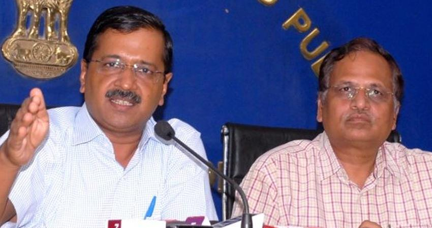 delhi kejriwal cabinet approved inter departmental report on project water harvesting in yamuna