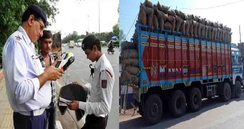delhi biggest challan ever cut in new motor vehicle act