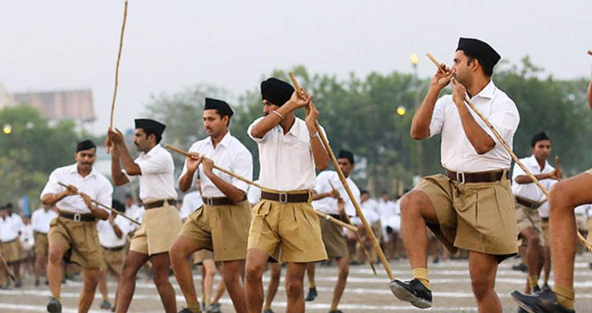 RSS opened its account on koo Amidst tussle between Modi government and Twitter rkdsnt