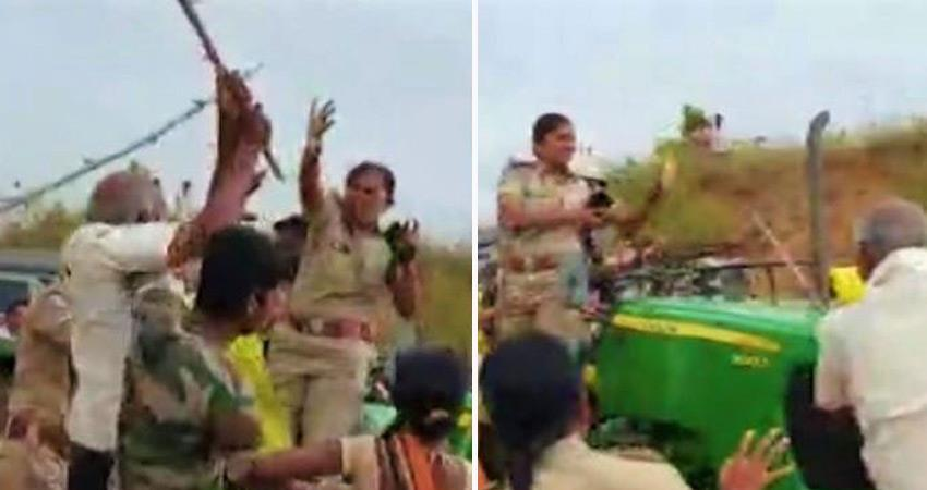 national commission for women concern over attack on woman forest officer in telangana