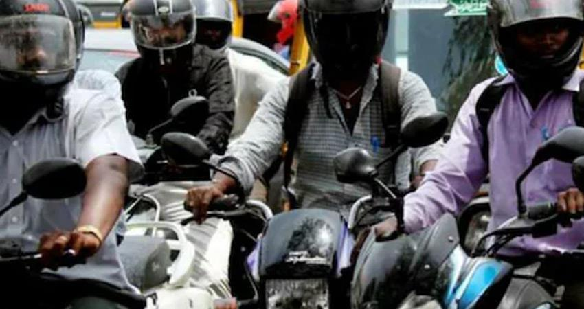 two wheeler sellers will have to give free helmet to buyer along with vehicle rkdsnt