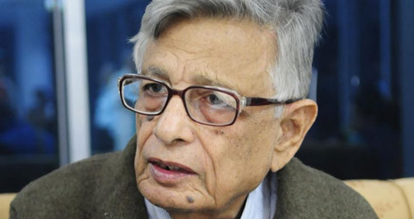 historian irfan habib alleged rss adopting national symbols as it not have leader of its own