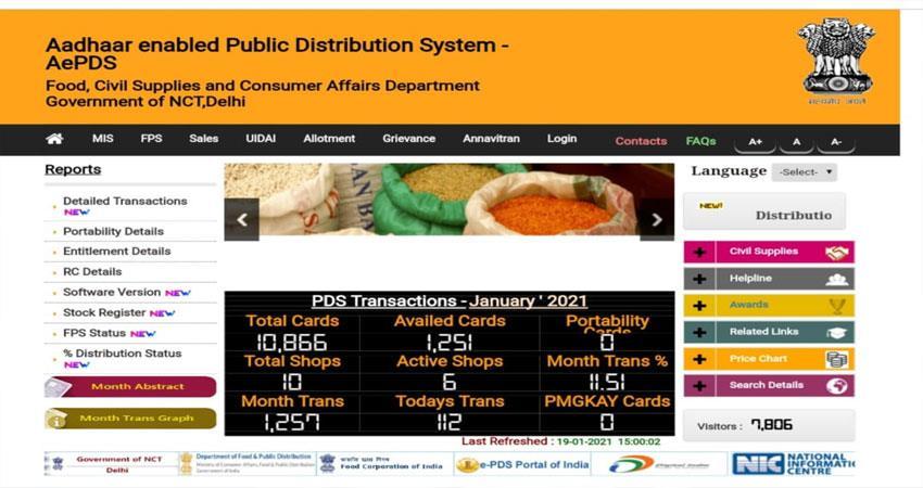 started-aadhaar-based-pds-based-portal-djsgnt