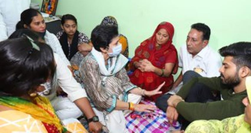 shailaja-says-congress-nothing-with-ballabhgarh-student-murder-case-bjp-propaganda-rkdsnt
