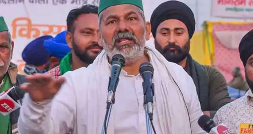 farmers leader rakesh tikait said they run sticks on us we will sing national anthem rkdsnt