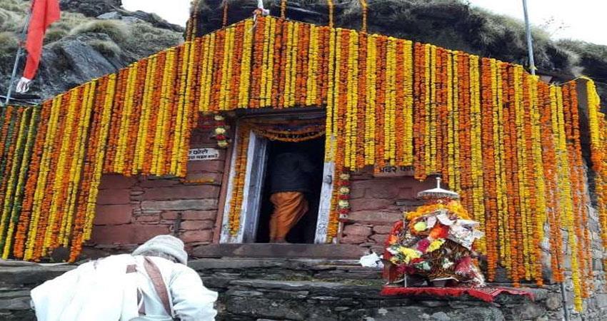 Image result for बंद हुए चतुर्थ केदार रुद्रनाथ के कपाट