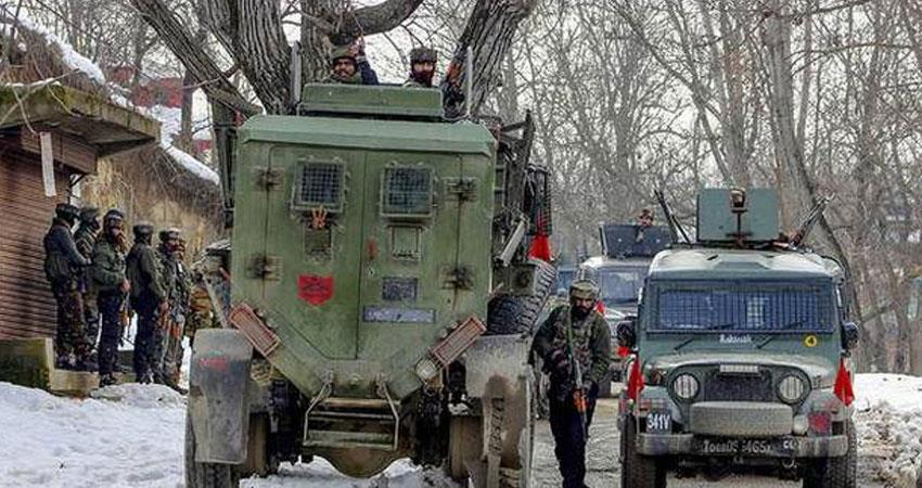 republic day eve military forces killed 3 terrorists in jammu and kashmir