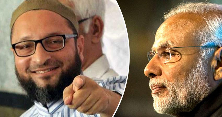 असदुद्दीन ओवैसी बोले- पीएम मोदी ने जिसको भाई कहा, वो तो लूट कर विदेश फुर्र हो गया - asaduddin-owaisi-says-narendra-modi-whom-he-called-brother-has-robbed-bank-money-go-abroad
