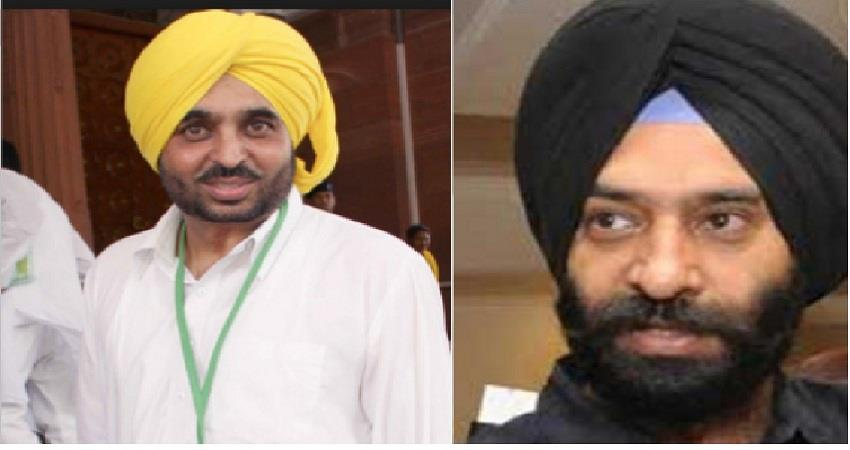 aap mp bhagwant mann gave advice to akali and sirsa defended the committee albsnt