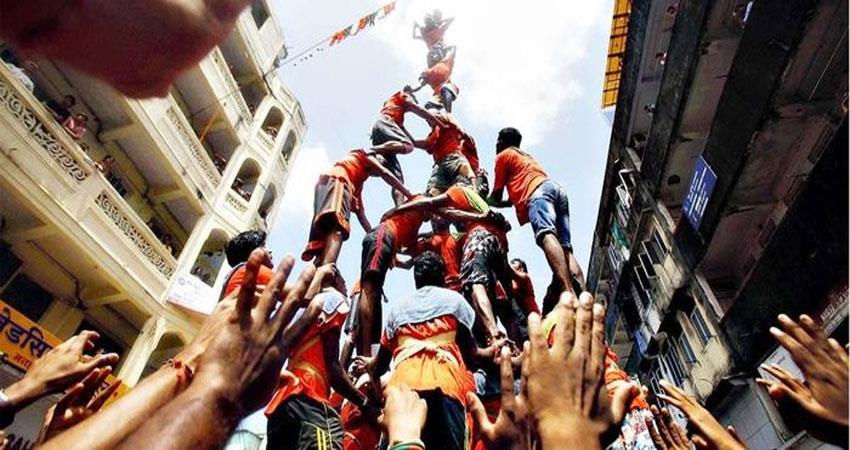 maharashtra dahi handi enthusiasm faded due to floods