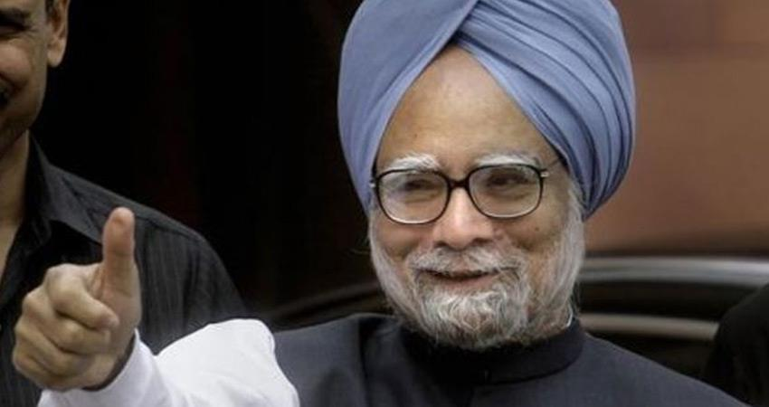 Manmohan Singh filed nomination for Rajya Sabha by election from Rajasthan Sachin Happy