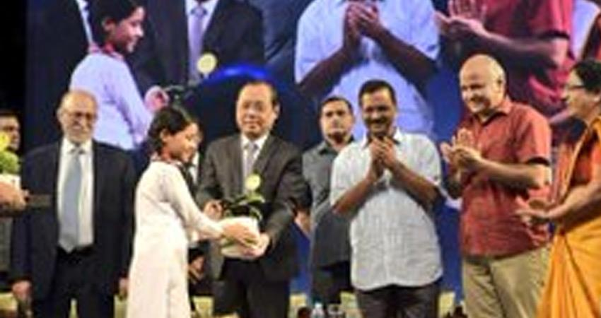 chief justice ranjan gogoi impressed with delhi arvind kejriwal aap govt happiness class