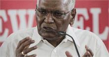 ममता के बाद डी राजा ने उठाए चिदंबरम की गिरफ्तारी पर सवाल