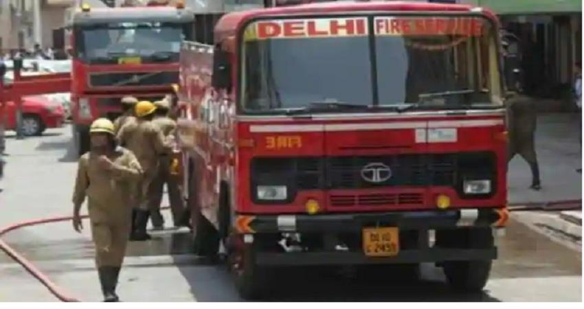 Delhi 8 fire engines arrived to extinguish fire in hospital no casualties ALBSNT